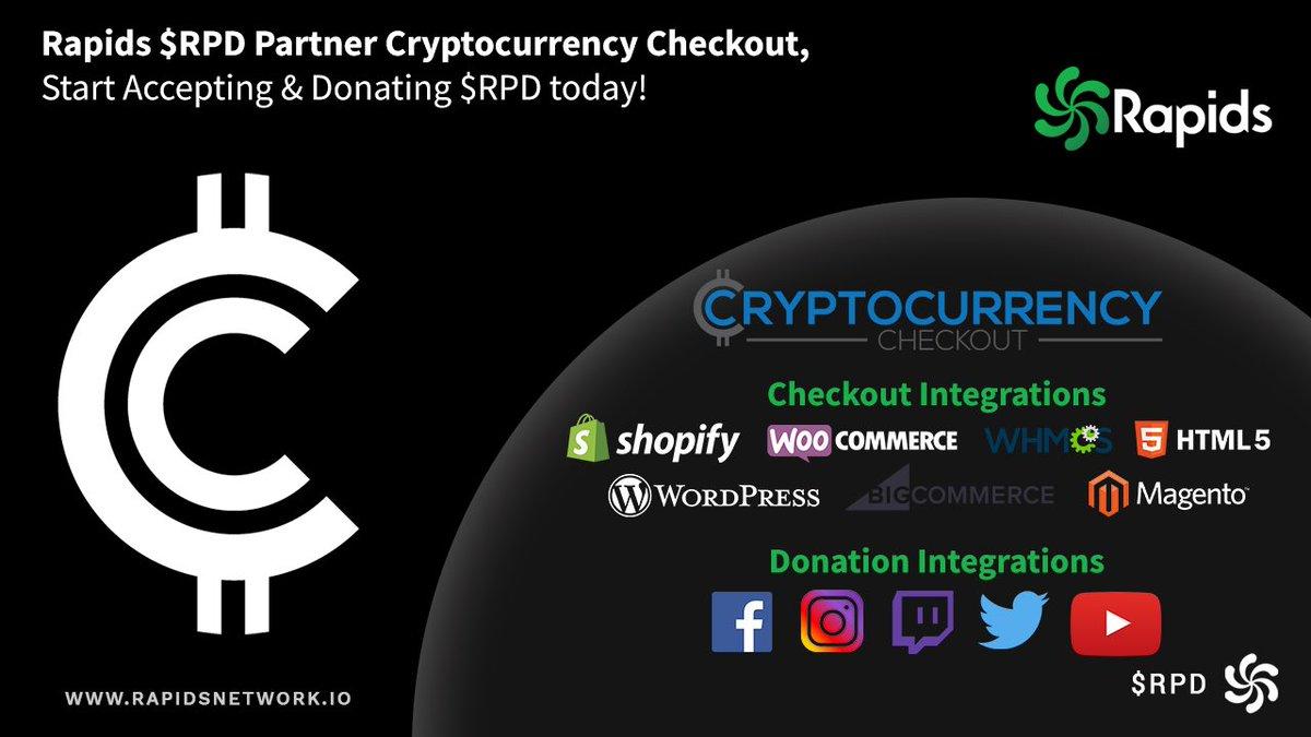 Rapids nowe partnerstwo z Crypto Checkout