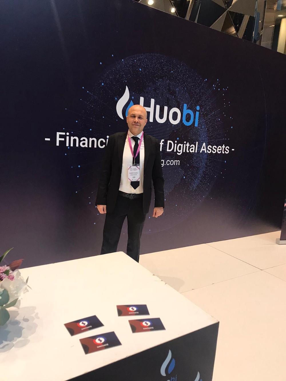 SINOVATE bierze udział w szczycie Eurazja Blockchain
