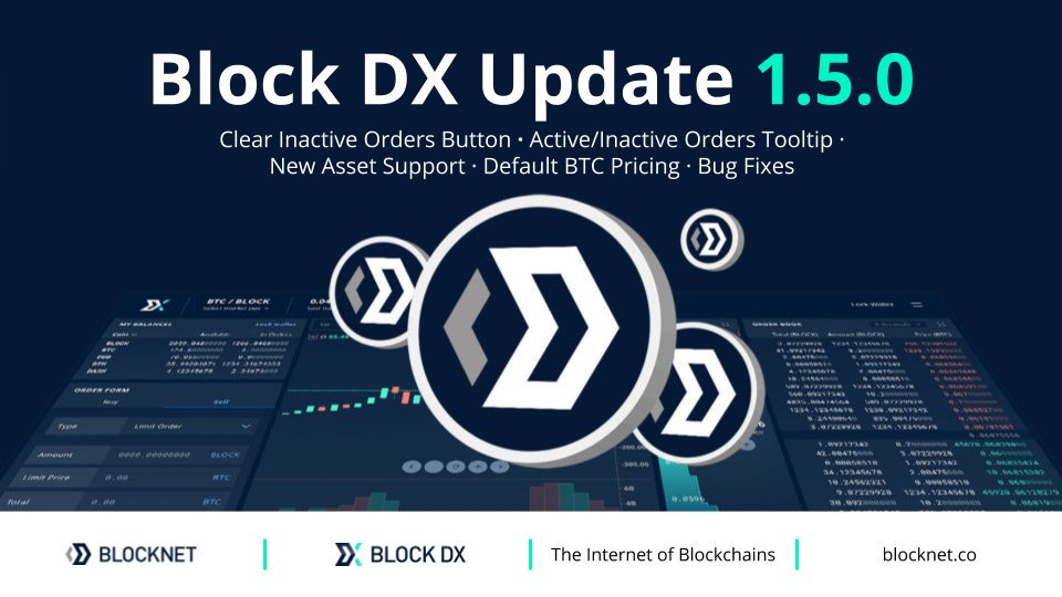 Block wersji DX 1.5.0 został wydany