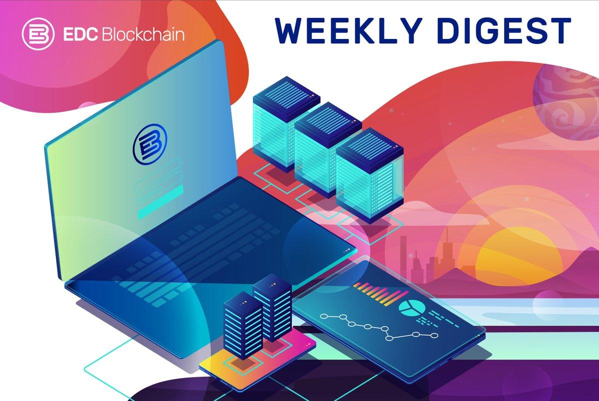 EDC Blockchain Digest. Wyniki tygodnia