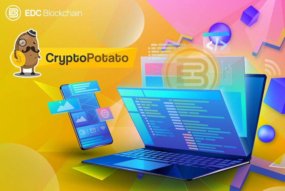 EDC Blockchain jest liderem wśród monet na CryptoPotato! 2