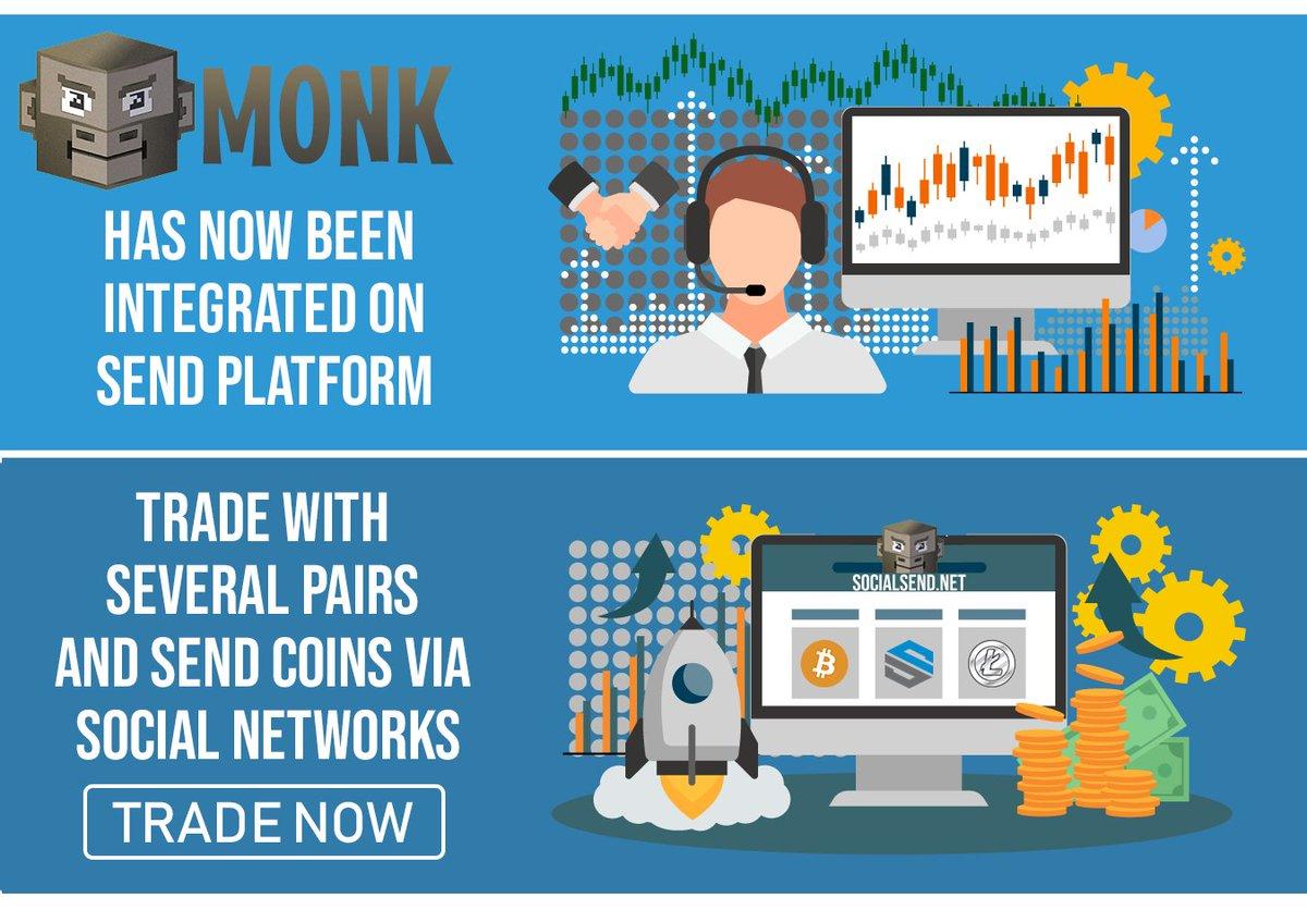 MONK social send