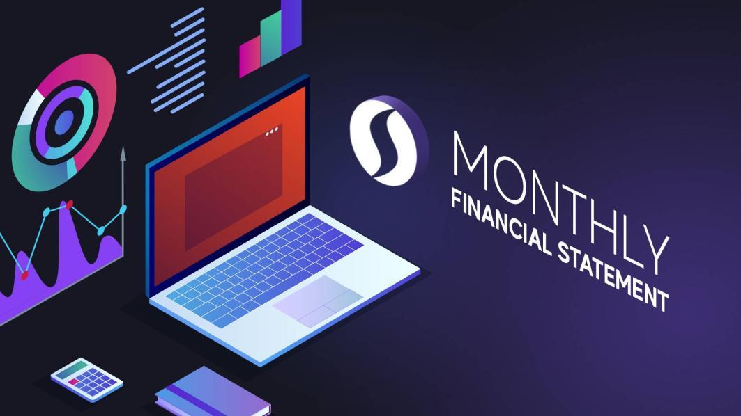 SINOVATE Miesięczny raport finansowy