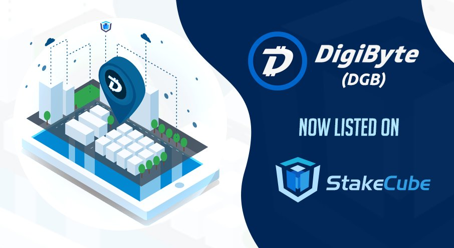 StakeCube DigiByte Coin