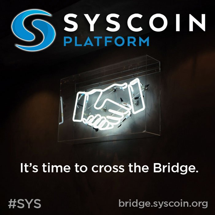 most Syscoin z Ethereum