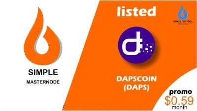 simple_masternode_listed_dapscoin_daps