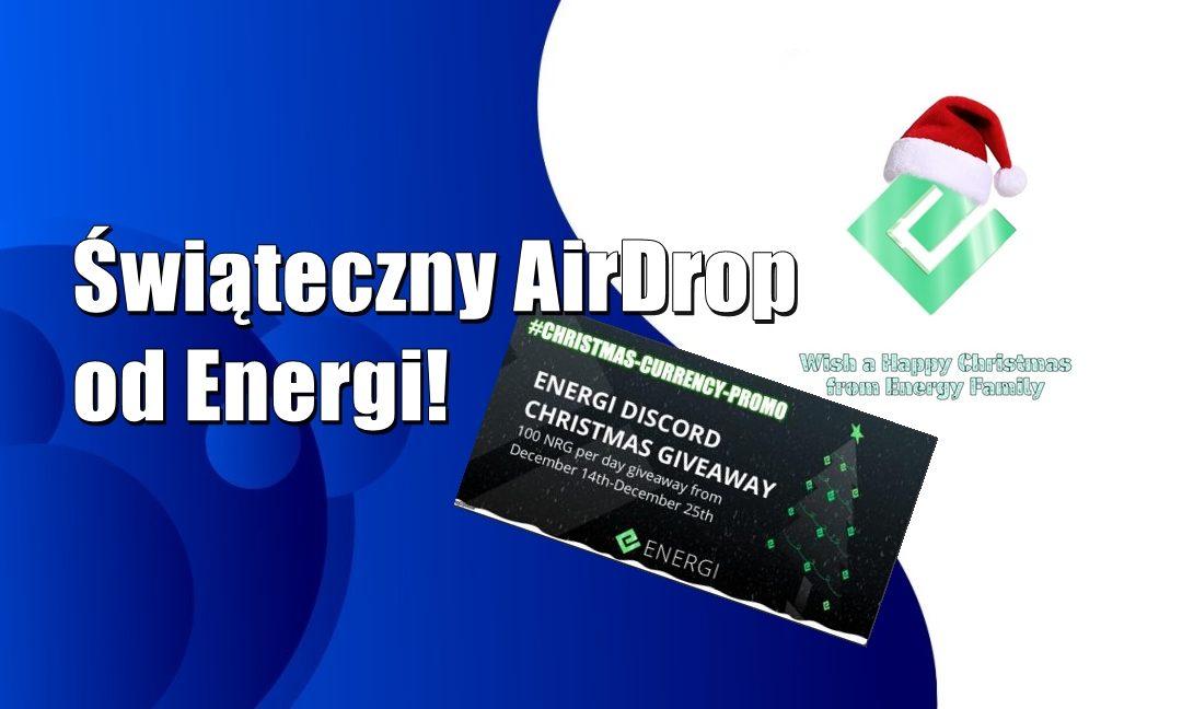 Świąteczny AirDrop od Energi! – AKTUALIZACJA VIDEO