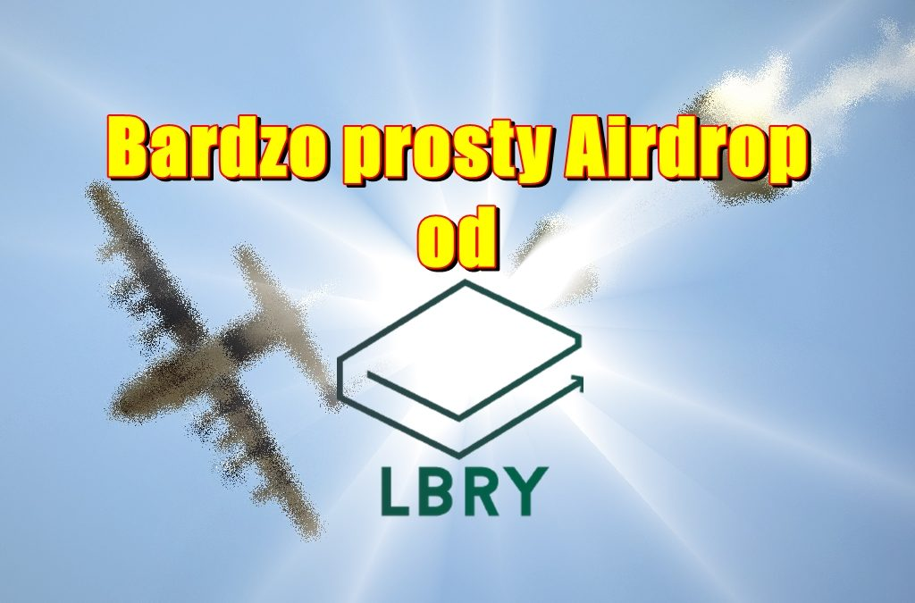 Bardzo prosty Airdrop od LBRY!