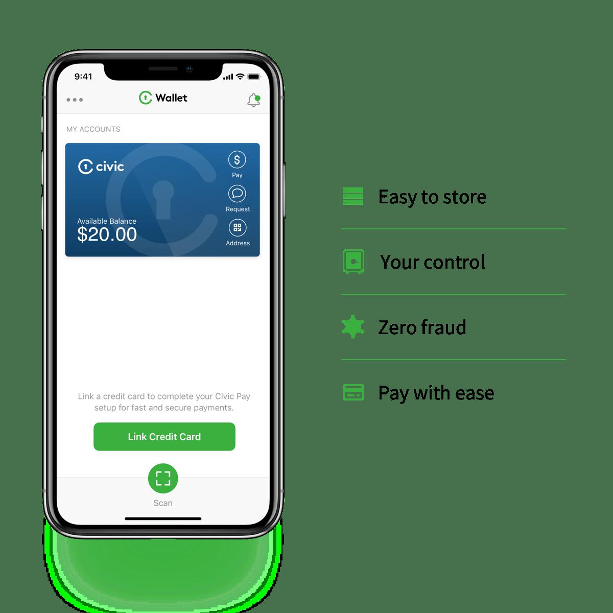 Civic Wallet zdobądź do 25 000 CVC