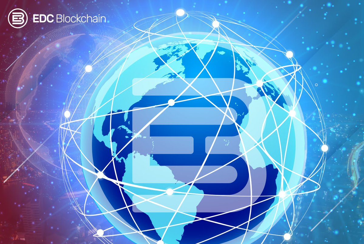 EDC Blockchain na mapie świata 2