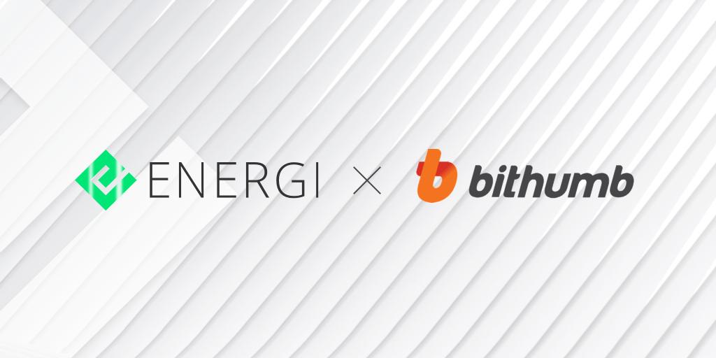 Energi jest już oficjalnie notowany na BithumbGlobal