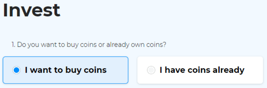Invest MyCointainer
