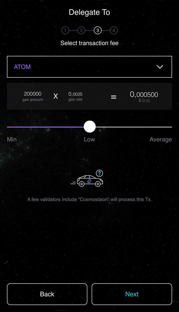 Korzystanie z mobilnego portfela Cosmostation z Gentarium 10