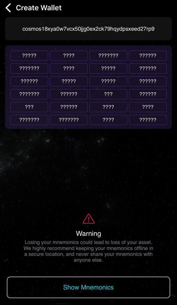 Korzystanie z mobilnego portfela Cosmostation z Gentarium 3