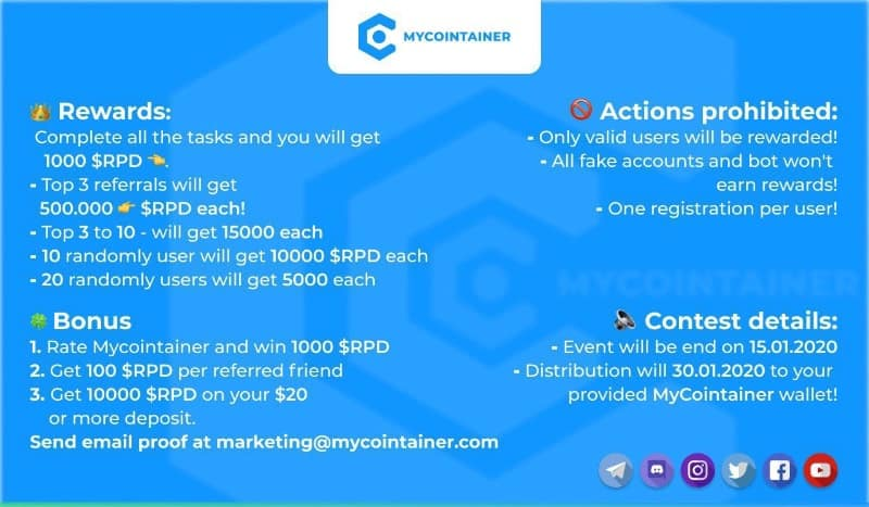 MyCointainer-RPD-Airdrop