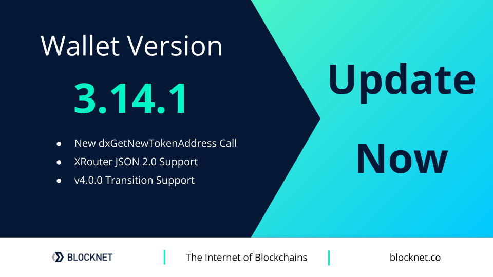 Portfel Blocknet 3.14.1 został wydany