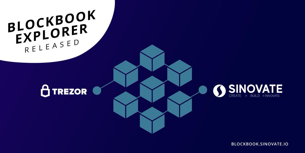 SinovateChain, Trezor Blockbook Explorer został wydany