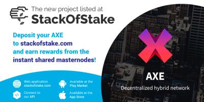 StackOfStake nowe monety Axe