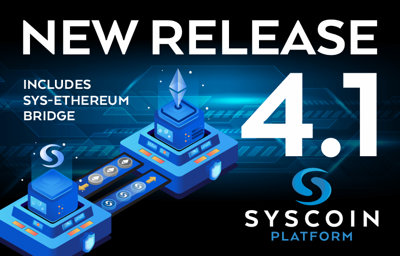 Syscoin 4.1 jest na żywo