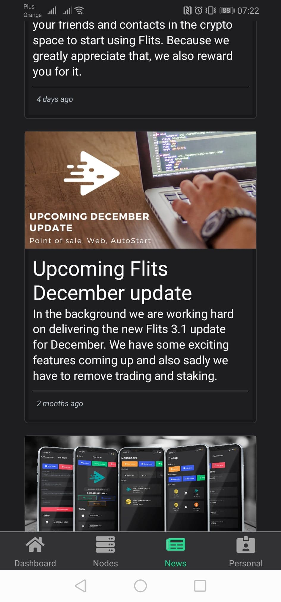 FLITS masternode 13
