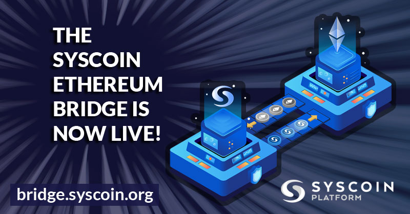 Most Syscoin Ethereum