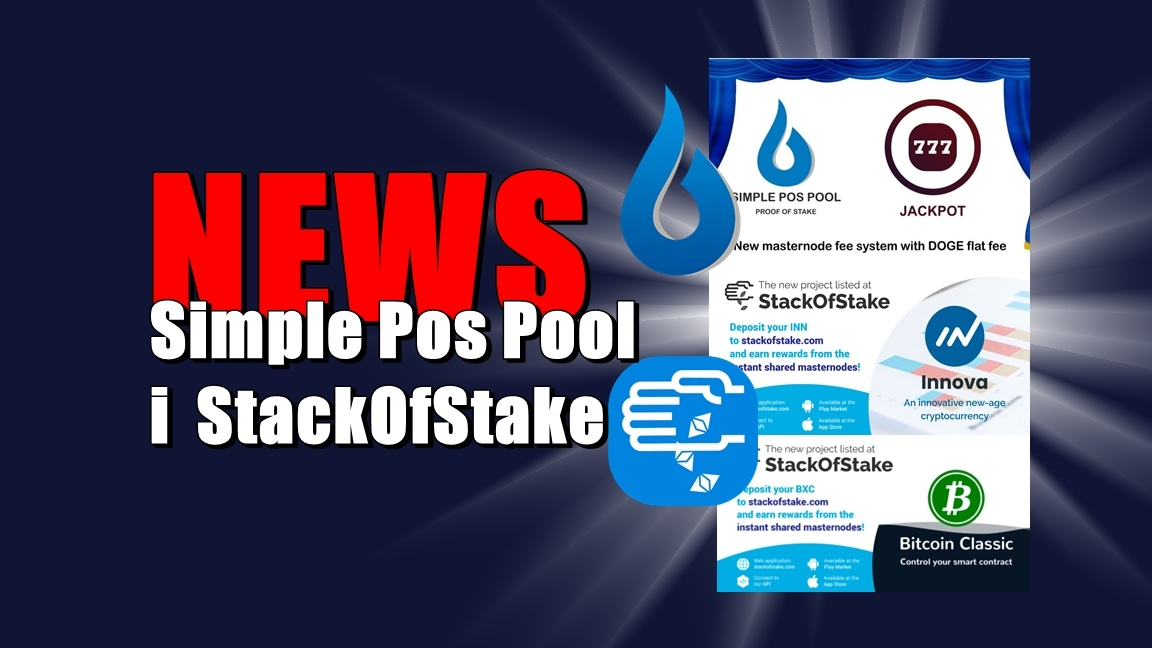NEWS: Simple Pos Pool i  StackOfStake
