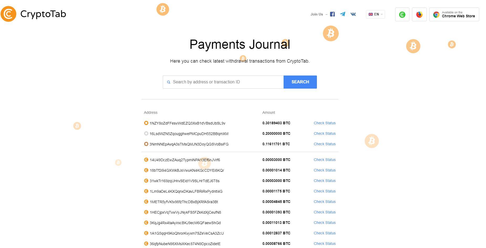 Przeglądarka-CrypotoTab-płatności