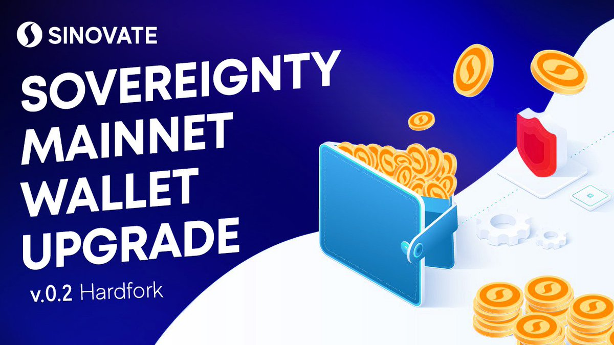 SinovateChain Sovereignty Wallet v1.02 obowiązkowa aktualizacja