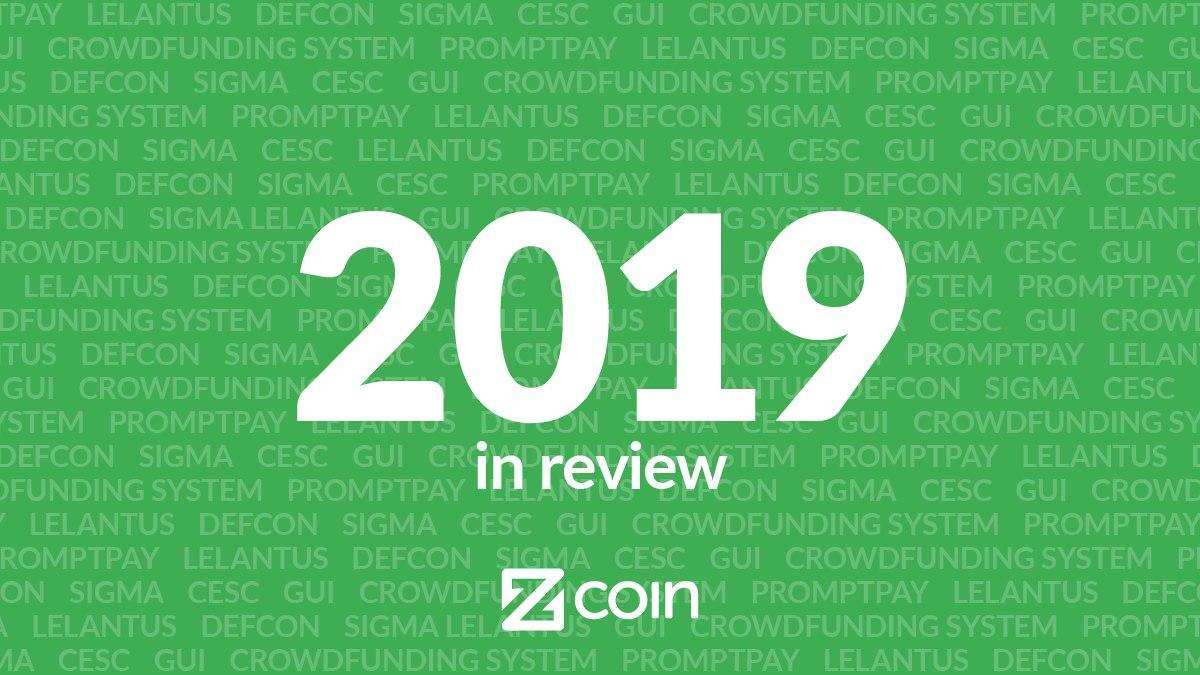 Spoglądamy na to, co Zcoin osiągnął w 2019 roku