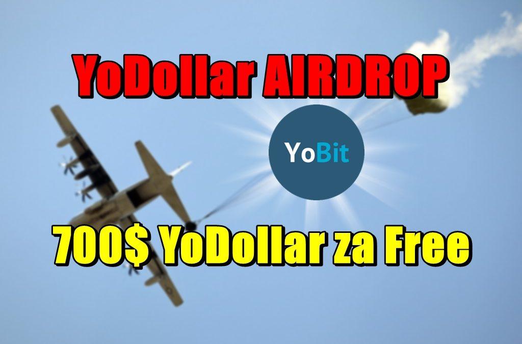 YoDollar AIRDROP – 700$ YoDollar za Free