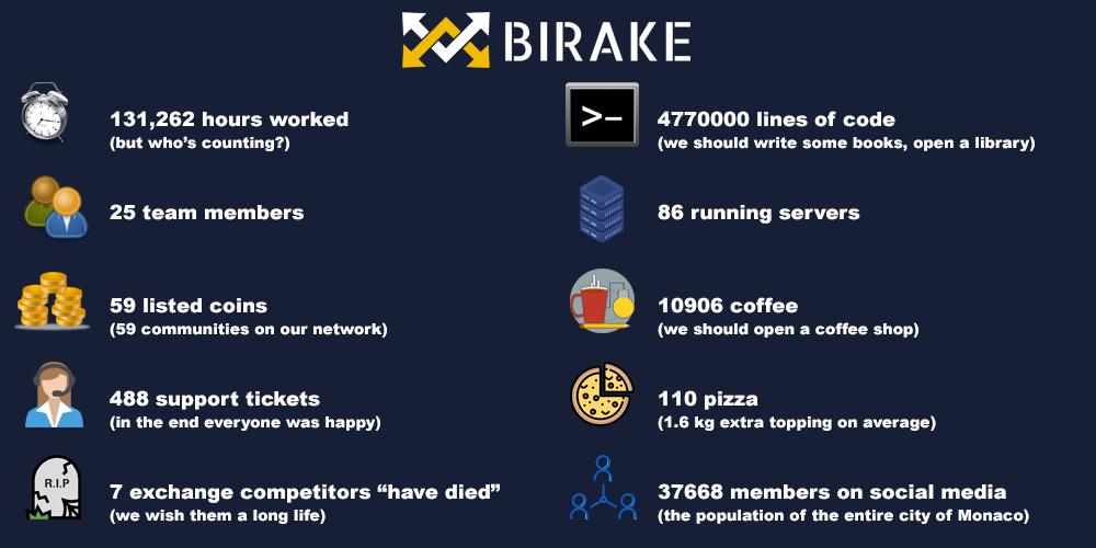 jak wyglądał rok 2019 w BIRAKE