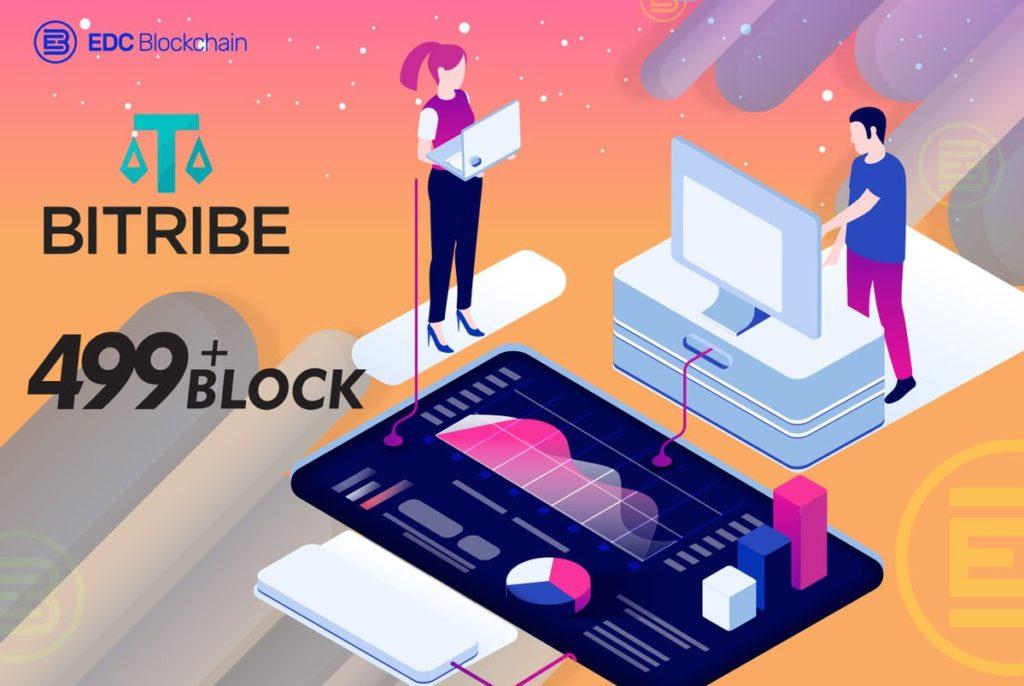 EDC zwiększa płynność! Rozpoczynamy współpracę z Bitribe i 499block Community!