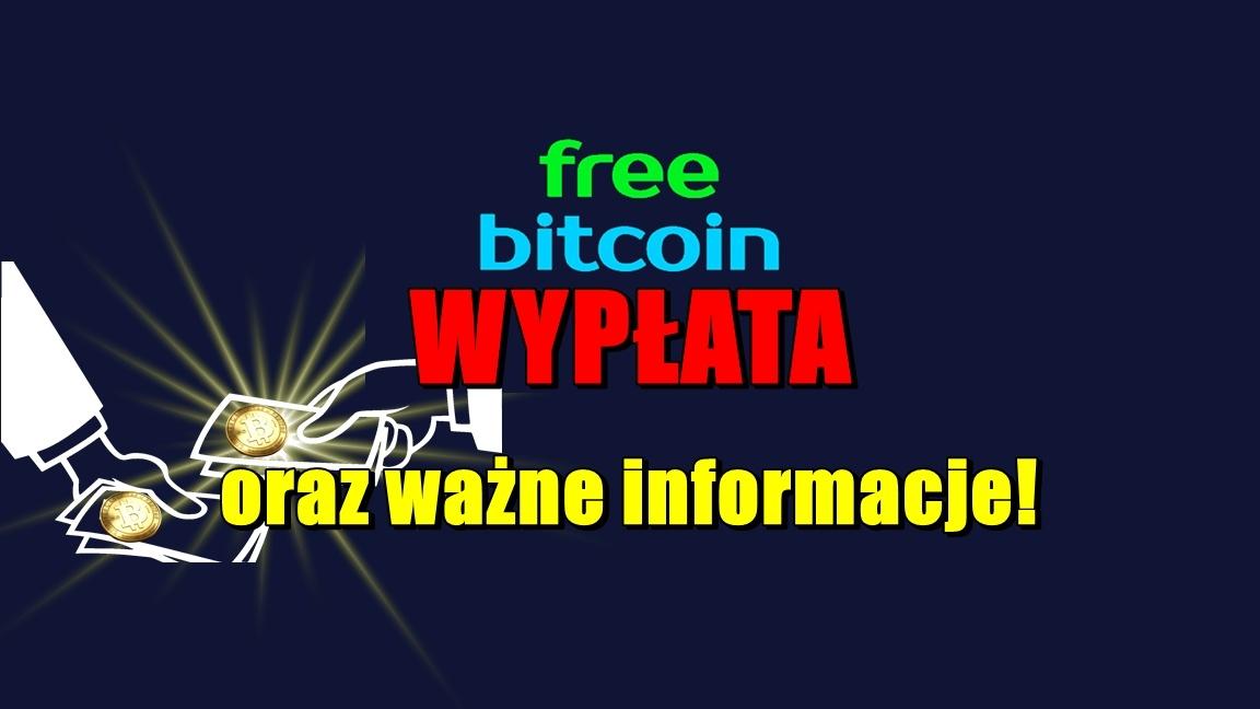 Freebitco – wypłata oraz ważne informacje!