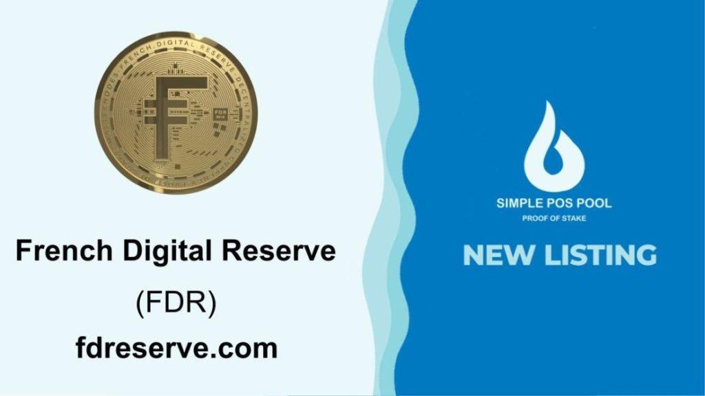 French Digital Reserve został odnotowany na Simple Pos Pool