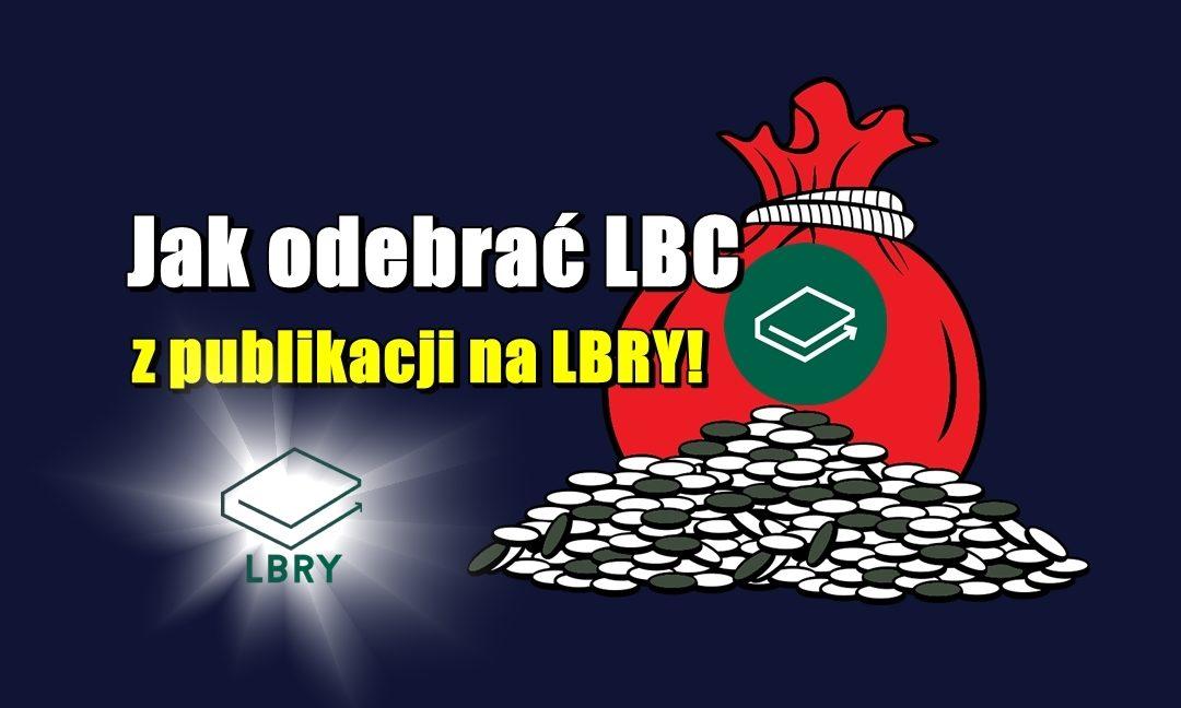 Jak odebrać LBC z publikacji na LBRY!