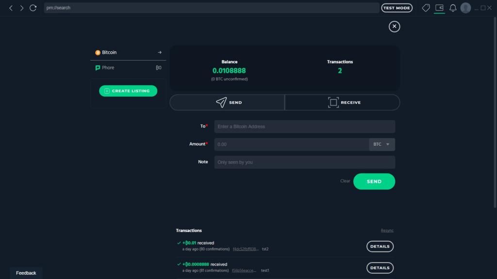 Najnowsza aktualizacja Marketplace Phore nadeszła