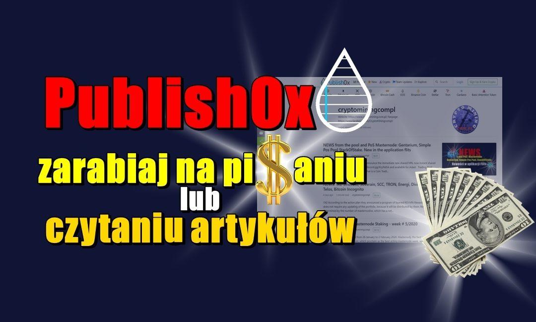Publish0x, zarabiaj na pisaniu lub czytaniu artykułów