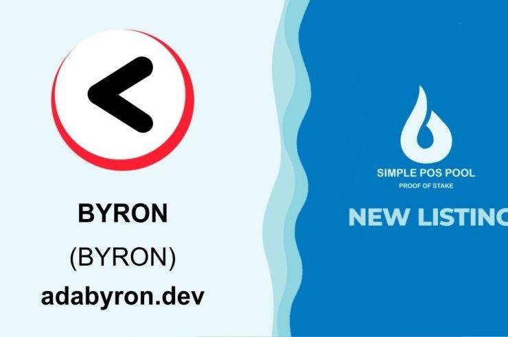 Simple Pos Pool na ich liście została wymieniona moneta Byron Coin