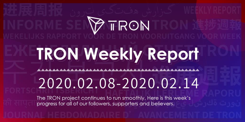 TRON raport tygodniowy 4