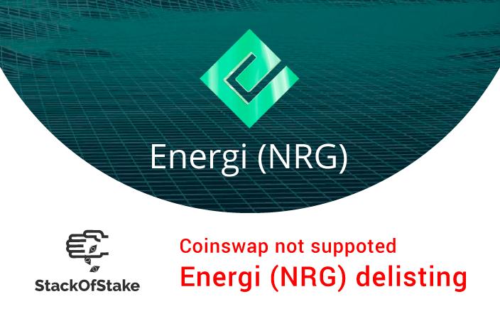 Migracja Energi z GEN2 do GEN3 nie będzie obsługiwana przez StackOfStake