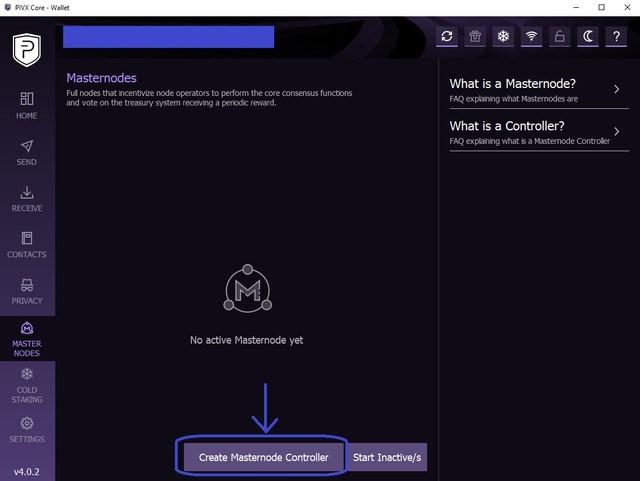 Nowy krok po kroku Masternode Instrukcja instalacji PIVX jest dostępna