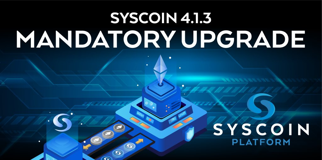 Syscoin Core 4.1.3 jest już dostępny