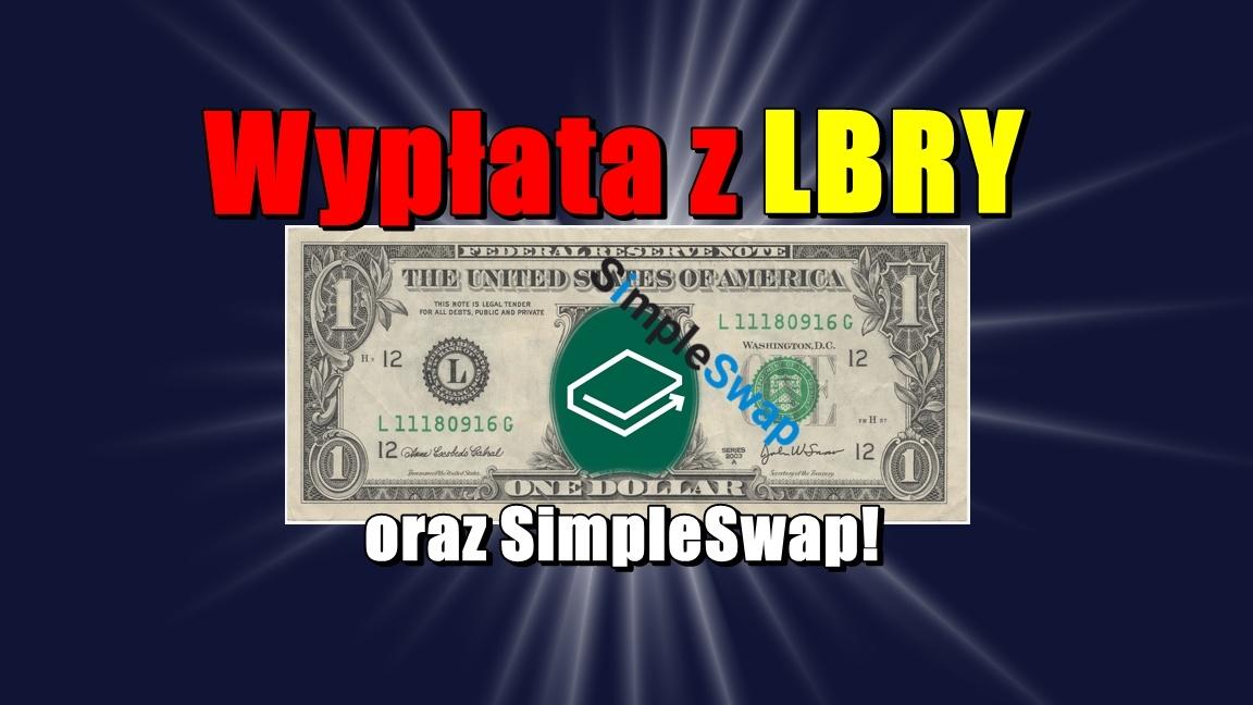 Wypłata z LBRY oraz SimpleSwap!