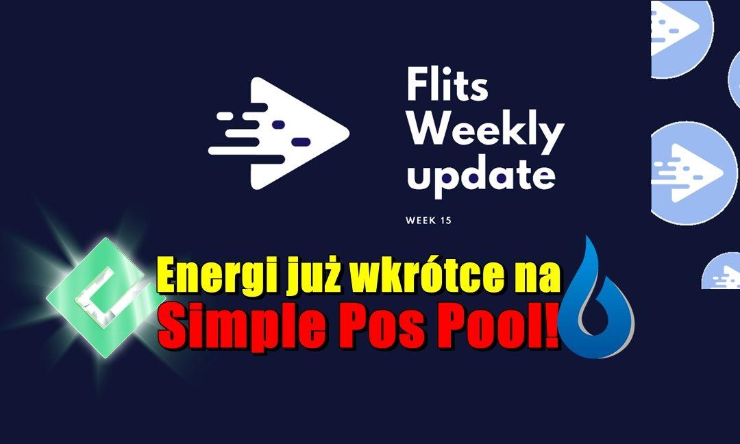 Cotygodniowa aktualizacja Flis - tydzień 15. Energi już wkrótce na Simple Pos Pool!