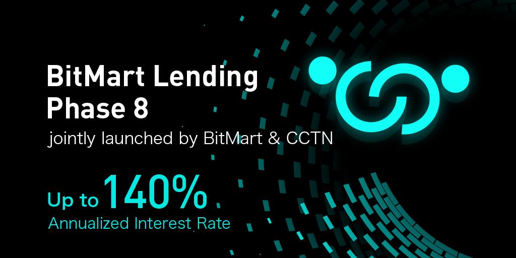 Faza pożyczek BitMart 8!