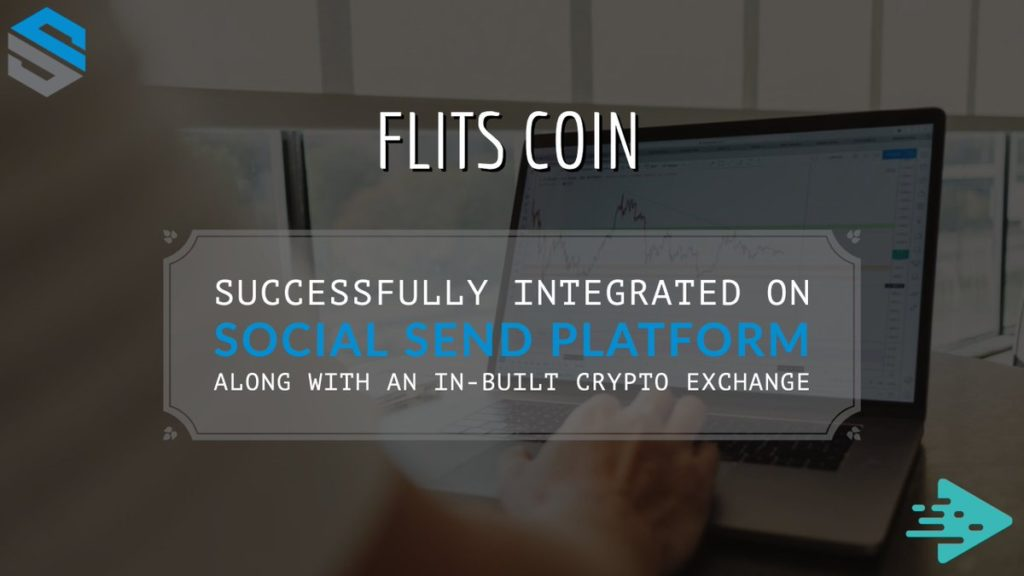 Flits Coin z platformą Social SEND