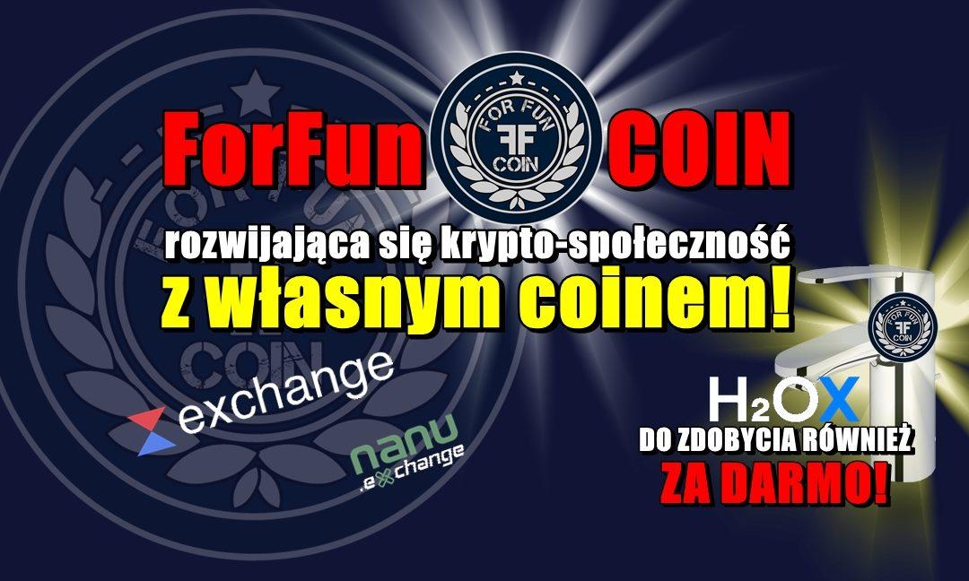 ForFun COIN, rozwijająca się krypto-społeczność z własnym coinem!