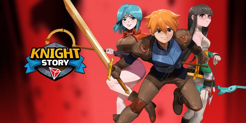 Knight Story, drugi tytuł twórców Eos Knights , zostanie wdrożony w sieci TRON