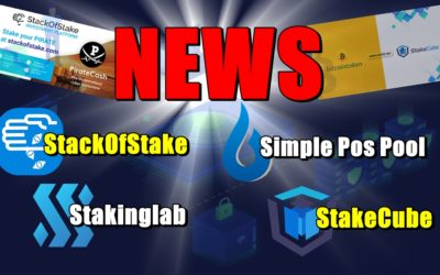 NEWS: StackOfStake, Simple Pos Pool, Stakinglab, StakeCube