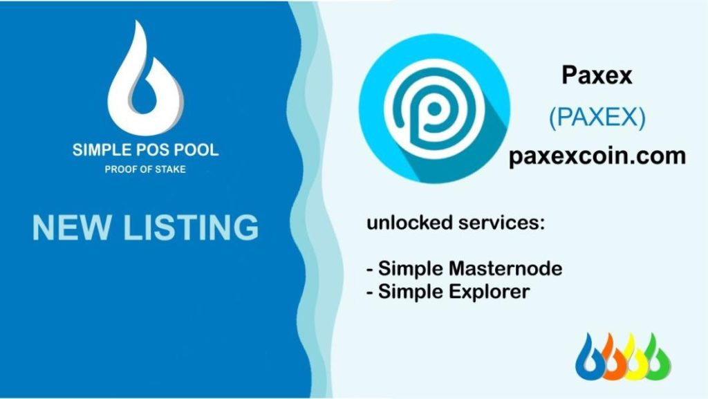 PAXEX został wymieniony na Simple Pos Pool 2